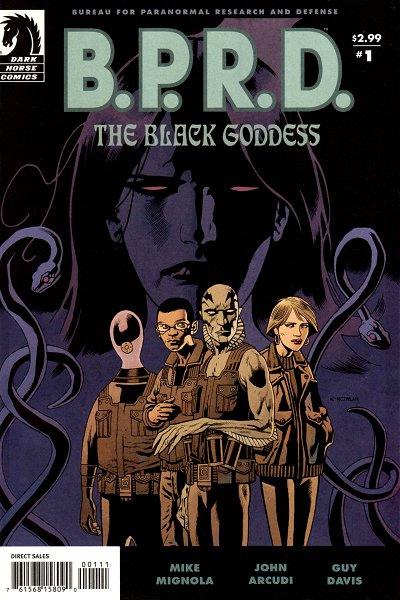 BPRD Black Goddess