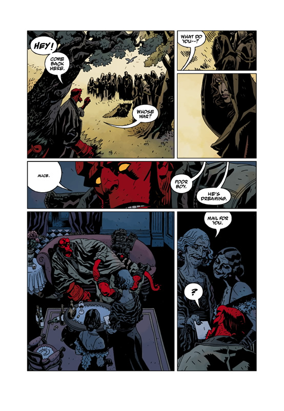 Duncan Fegredo artist on Hellboy