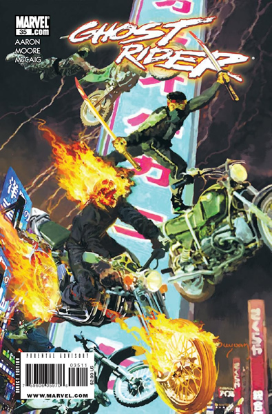 Jason Aaron on Ghost Rider