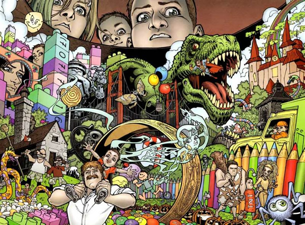 Locke & Key: Headgames #3 - A look inside Bode's head