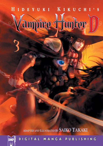 Vampire Hunter D Volume 3