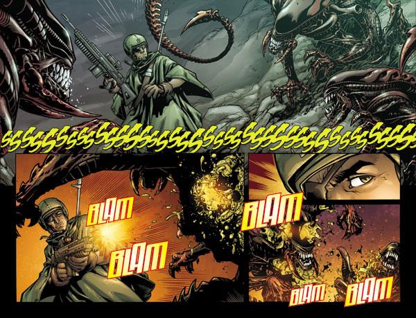 Wes Dzioba on Aliens