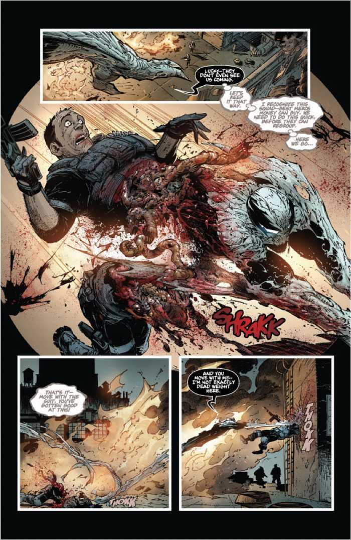 Haunt rips through a merc. - Haunt #9