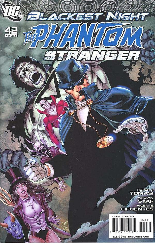 Blackest Night: Phantom Stranger #42