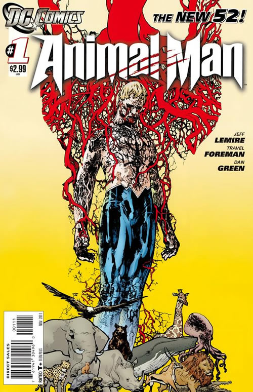 Jeff Lemire on Animal Man/Sweet Tooth