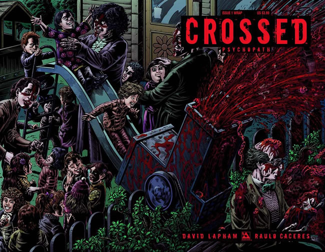 Crossed Psychopath #1 Wraparound