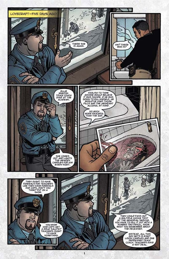 Jay Fotos on Locke and Key and 68