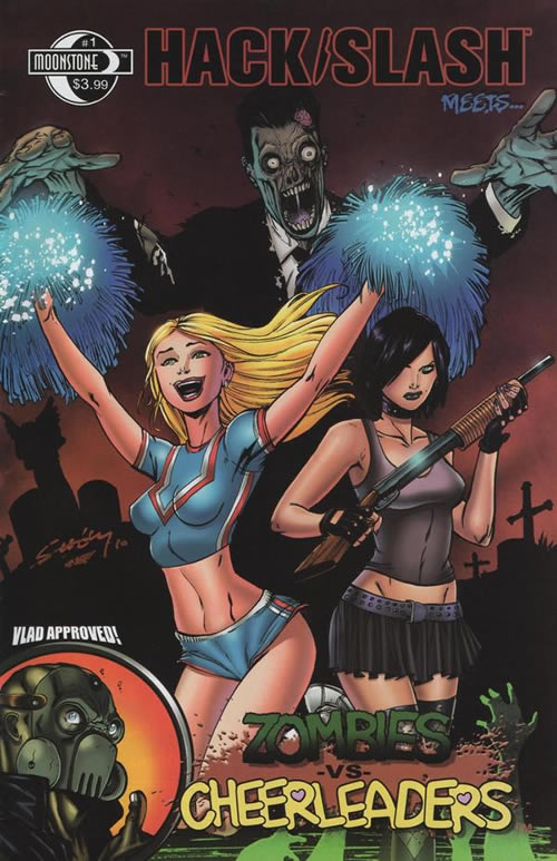 Hack/Slash Meets Zombies vs. Cheerleaders