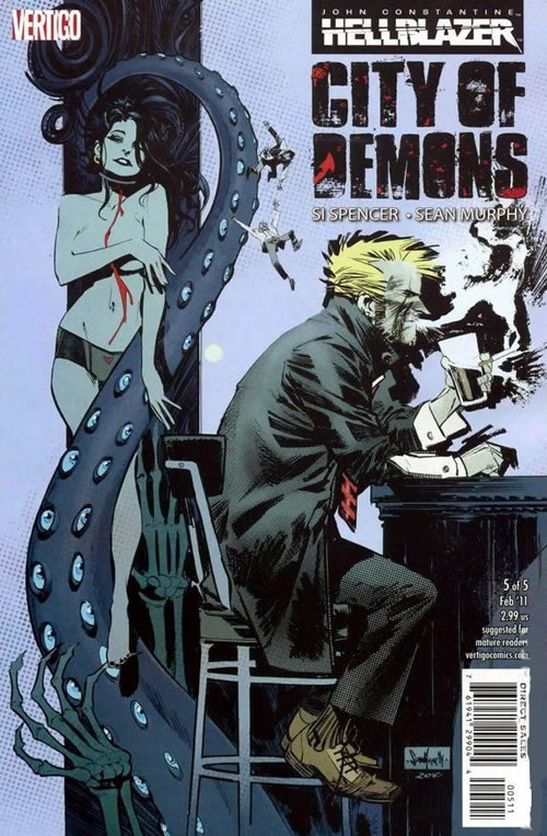 Hellblazer City of Demons