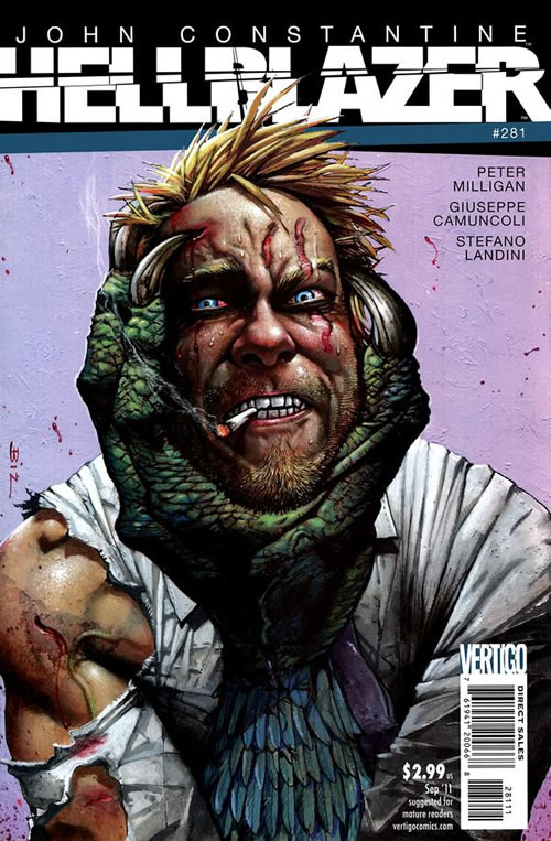 Peter Milligan on Hellblazer/Justice League Dark