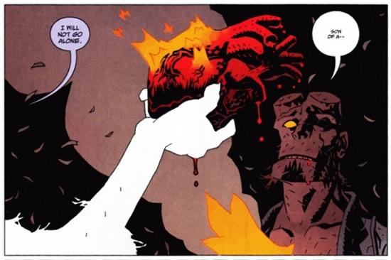 Hellboy Dies - Hellboy The Fury #3
