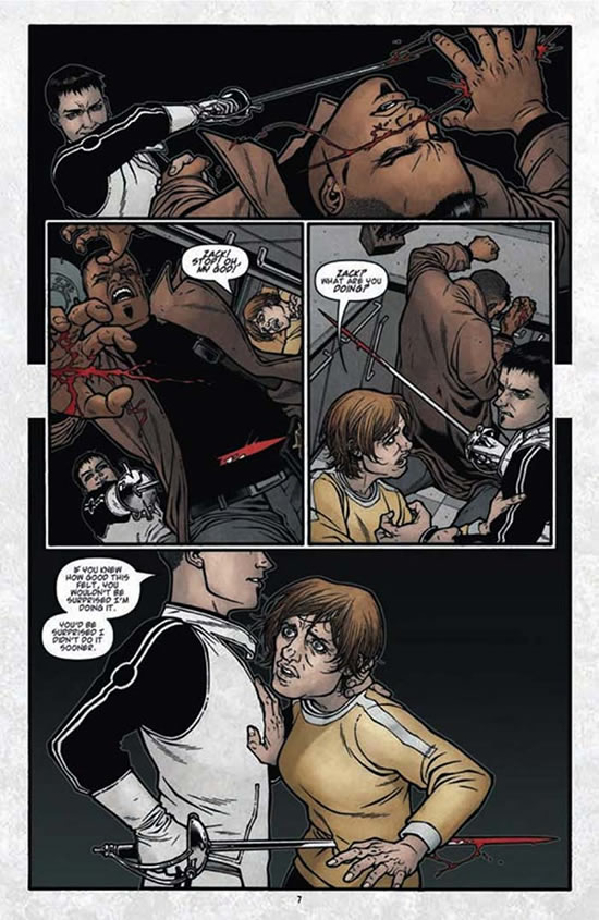 Gabriel Rodriguez on Locke and Key