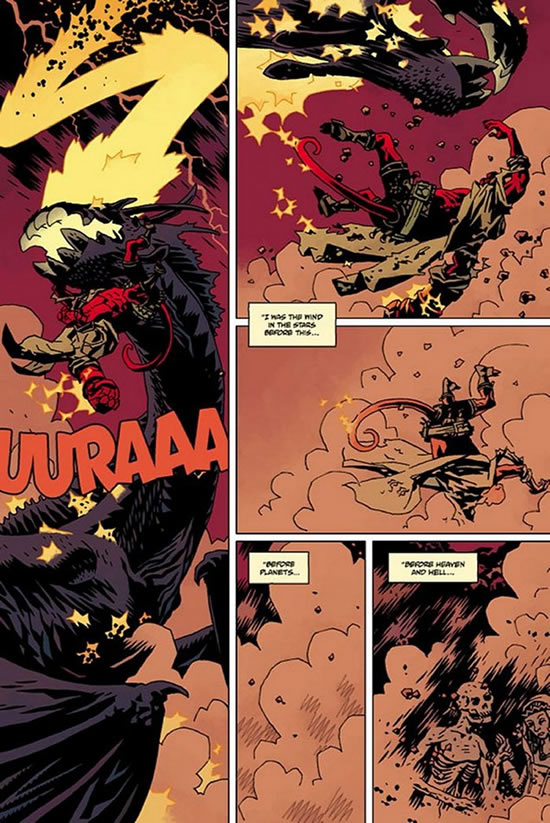 Dave Stewart on Hellboy: The Fury