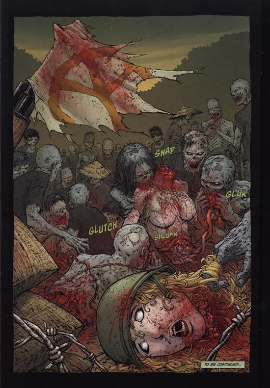Miss Landers is eaten by zombies - 68 #2