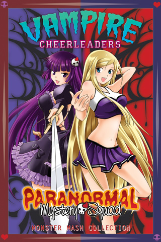 Vampire Cheerleaders / Paranormal Mystery Squad Monster Mash Collection