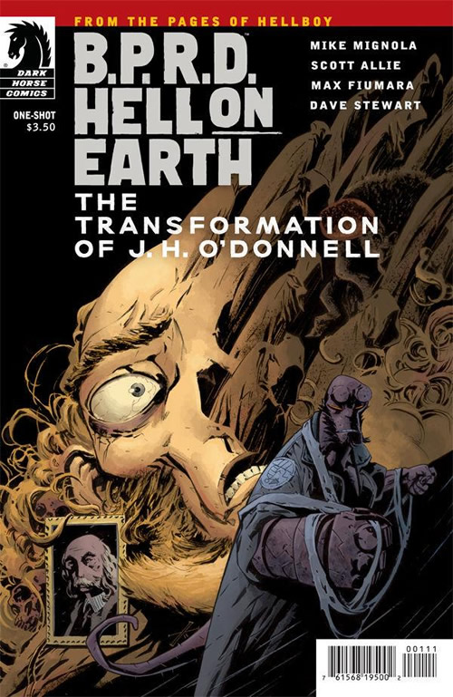 BPRD Hell on Earth - The Transformation of J.H. O'Donnell