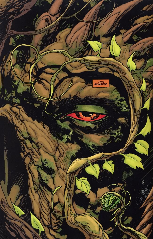 Alec Holland accepts Swamp Thing. - Swamp Thing #7