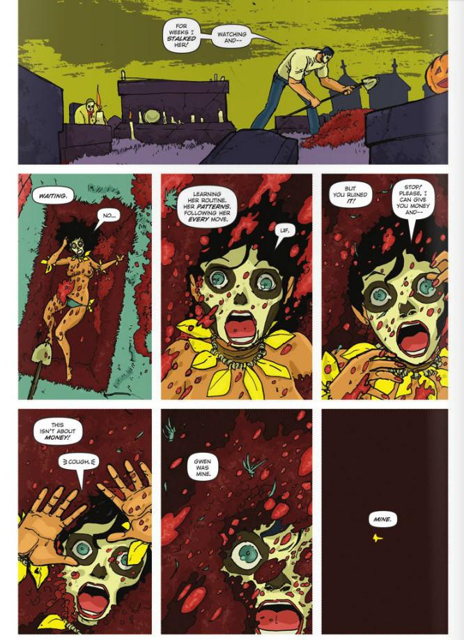Getting buried alive. Dia De Los Muertos #2