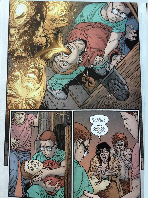 The End of Bodes Possession. Locke & Key. Alpha #1