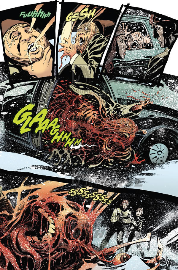 Man melts in car. To Hell You Ride #3