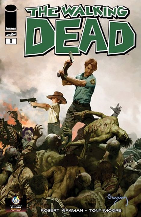 Walking Dead #1 Variant Wizard World St. Louis