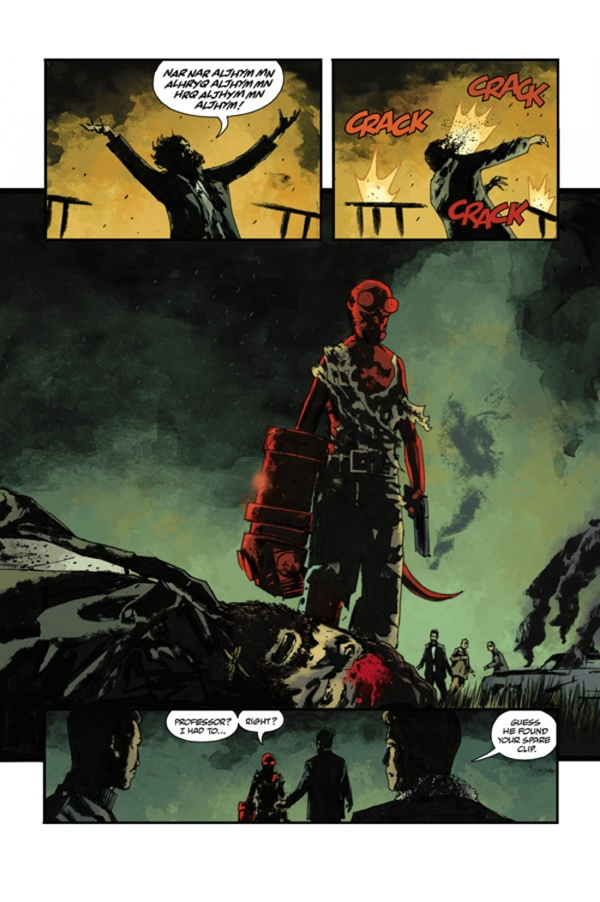 Dave Stewart - Hellboy, Abe Sapien, BPRD, Witchfinder