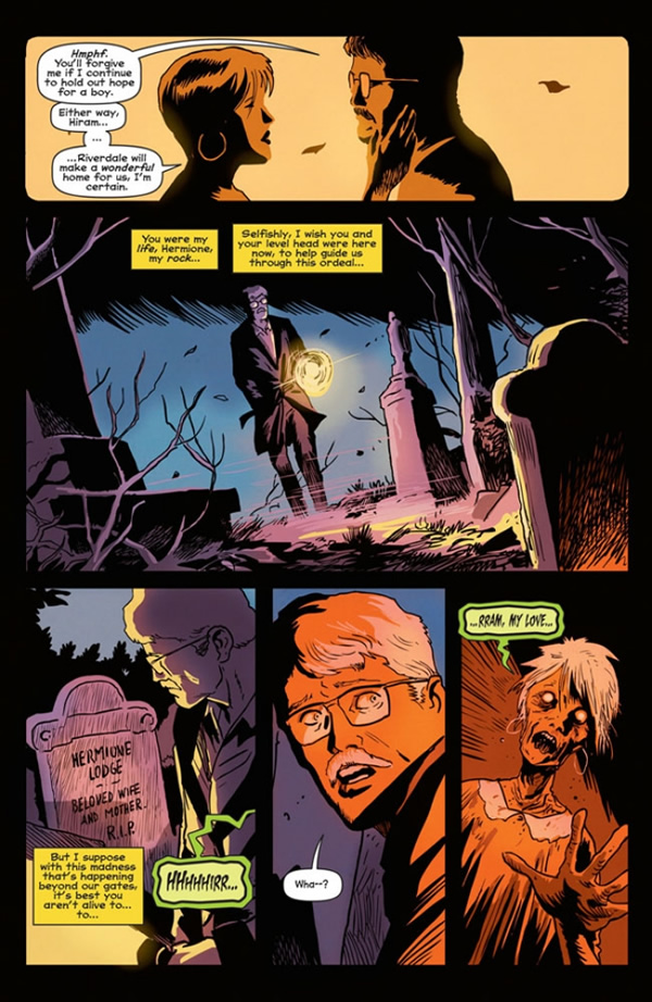 Francesco Francavilla - Afterlife with Archie