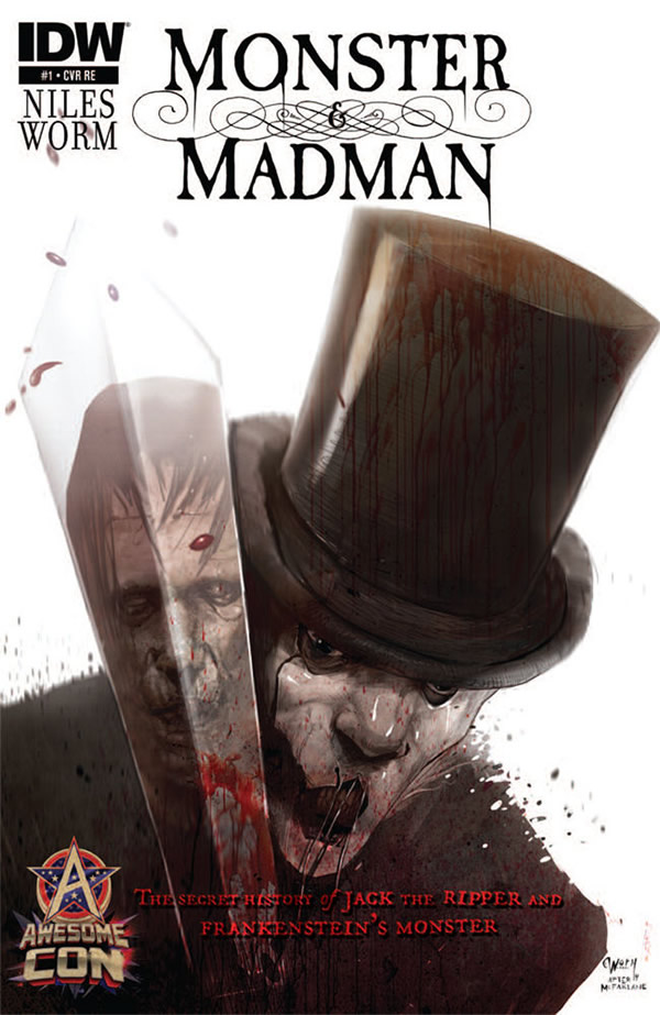 Monster & Madmen #1 - Awesome Con Variant