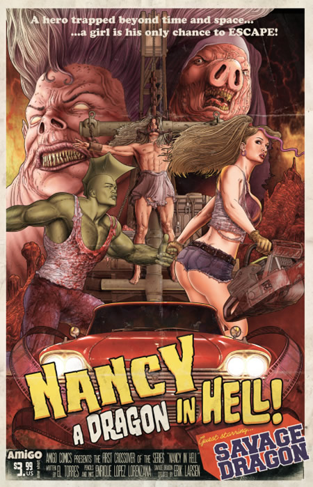 Nancy in Hell: A Dragon in Hell