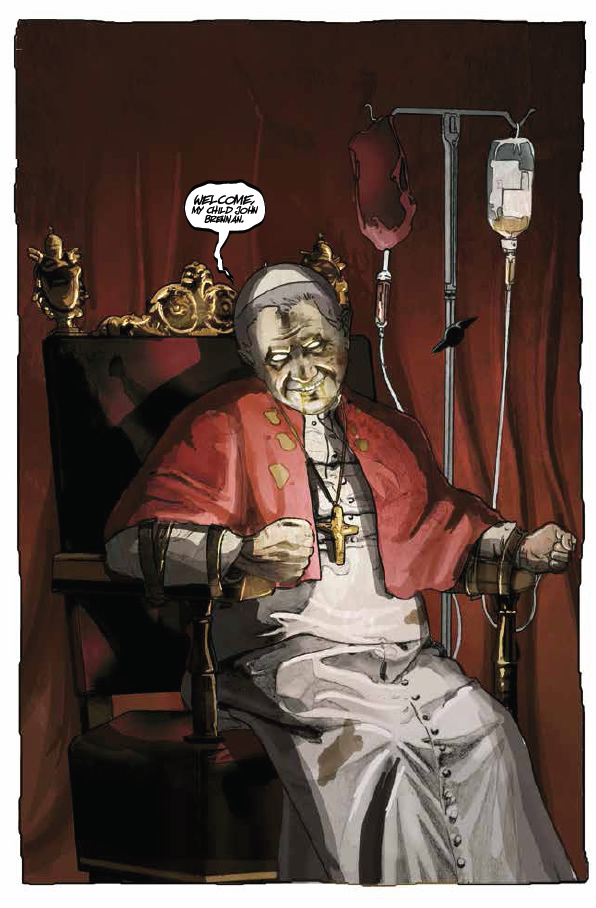 The Pope is possessed. - Roman Ritual #1