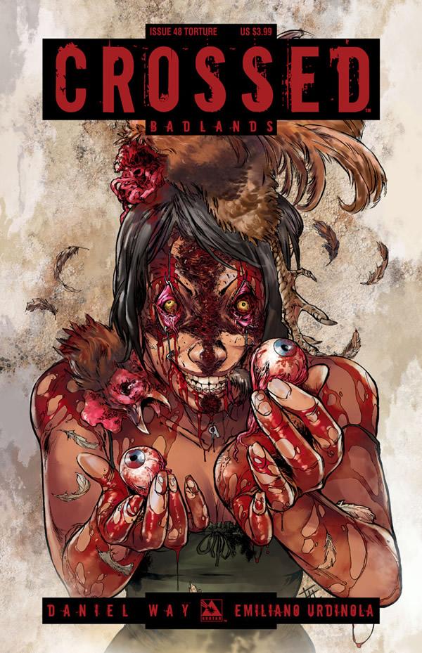 Crossed Badlands #48 Torture Cover