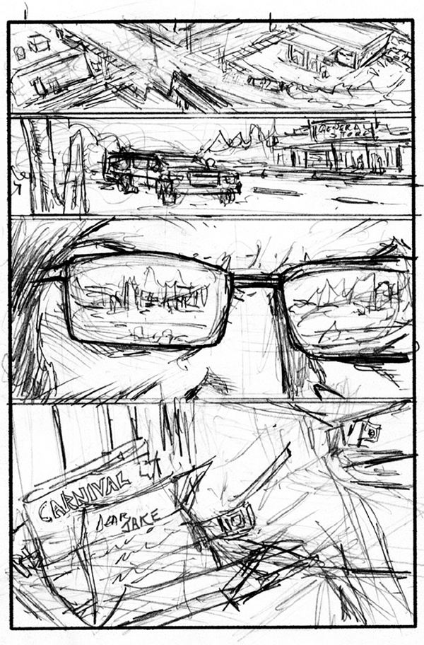 Comic Storyboards Figure A Page From Alexs Independent Comic Book