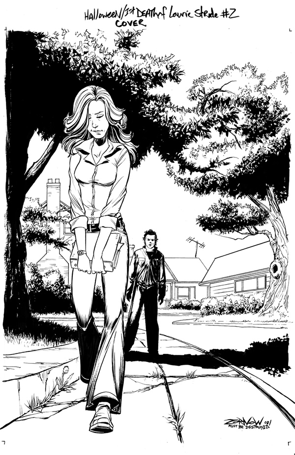 michael myers coloring pages - photo#7