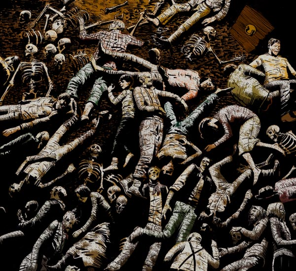 Pile Of Bodies : Pile of dead bodies drawing imgkid the image