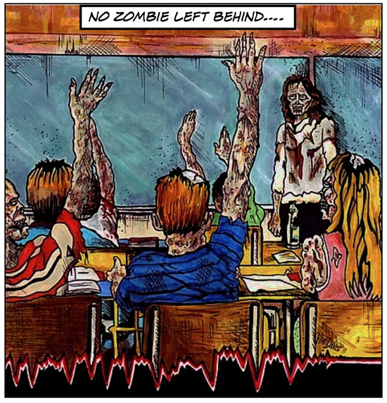 End Times zombie story