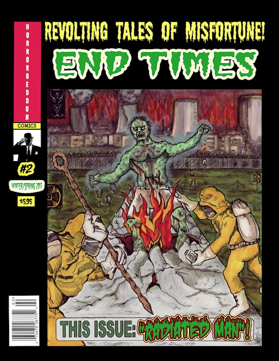End Times horror comic