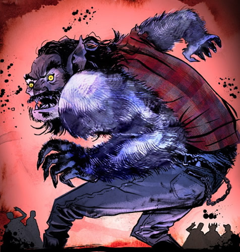 Screamland wolfman