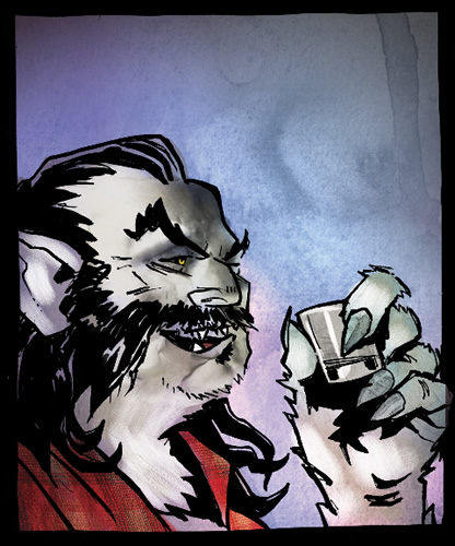 the wolfman comic